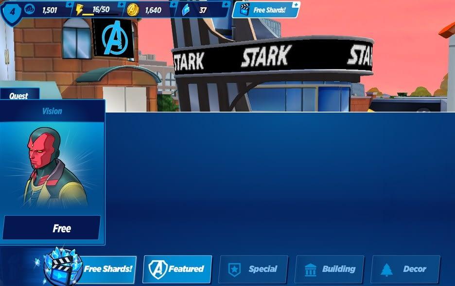 MARVEL Avengers Academy mega mod
