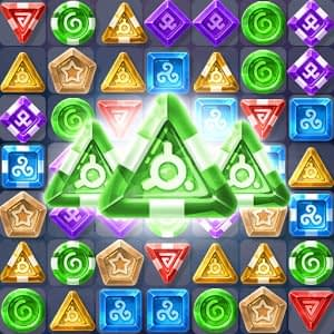 Magic crush: match 3 gems mod